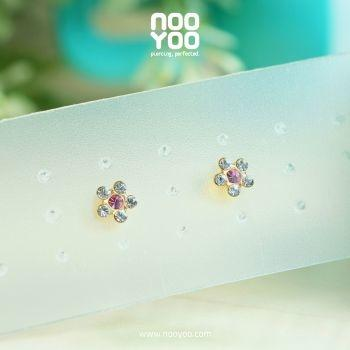 (30115) Daisy APR Crystal / OCT Rose Gold Plated