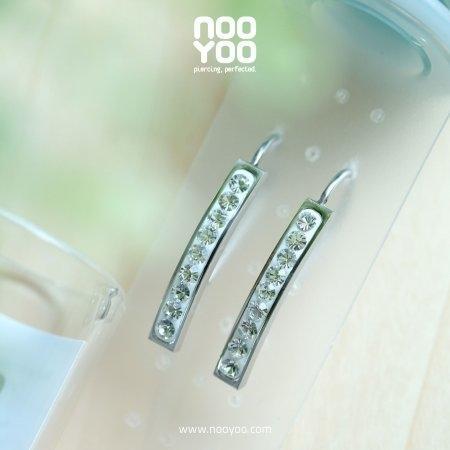 (30660) Hook Bar Crystal Surgical Steel