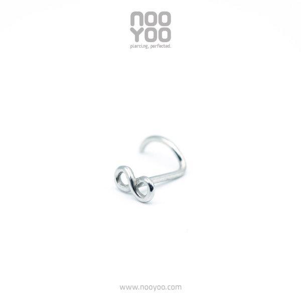 (30762) จิวจมูก Nose Pigtail Infinity Surgical Steel