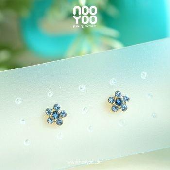 (30126) Light Sapphire / SEP Sapphire Gold Plated