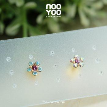 (30114) Daisy AB Crystal/ OCT Rose Gold Plated
