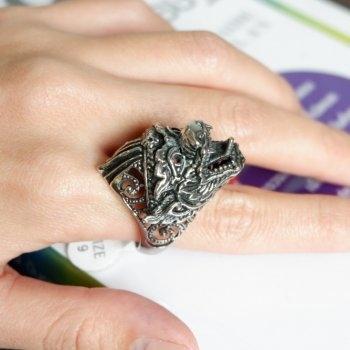 #9#10แหวนสแตนเลส หนุมาน P202
