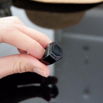 #7 แหวน สีดำ สแตนเลส P338