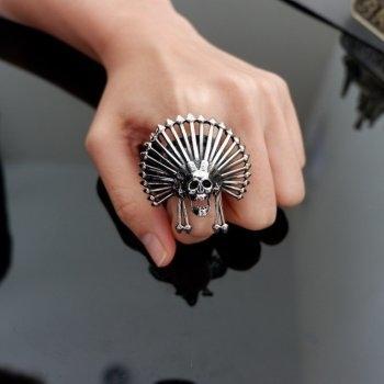 #9 แหวน กะโหลก หัวหน้าเผ่า P342