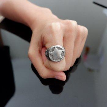 #10 แหวน ดาว สแตนเลส P340
