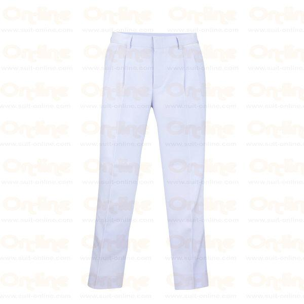 กางเกงขายาว ชาย (สีขาว)