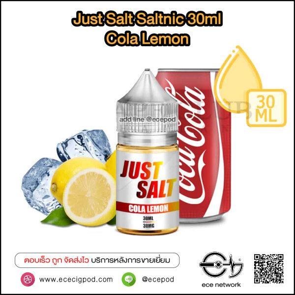 Just Salt Saltnic - Cola Lemon N30/30ml