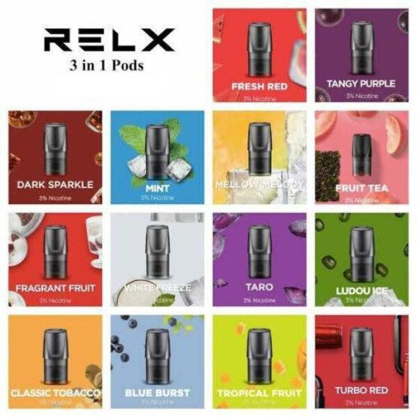 หัว RELX Classic แพ็คสุดคุ้ม 10 กล่อง (3ชิ้น/กล่อง)
