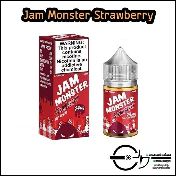 Jam Monster Strawberry Salt 24 /48mg