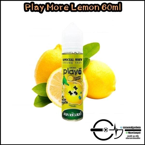 Play More Lemon 60ml