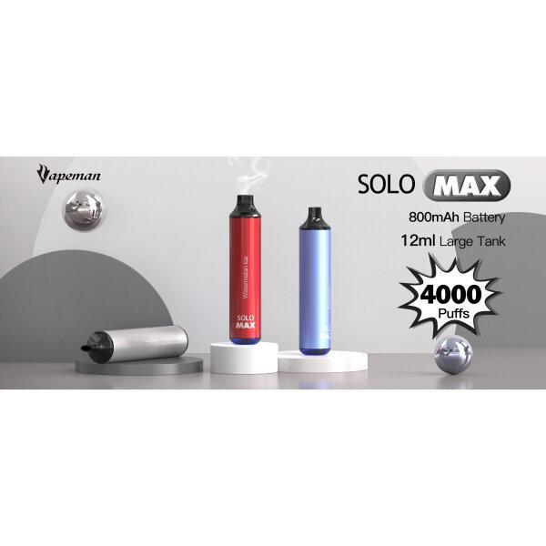 Vapeman Solo Max Disposable (4000puffs)