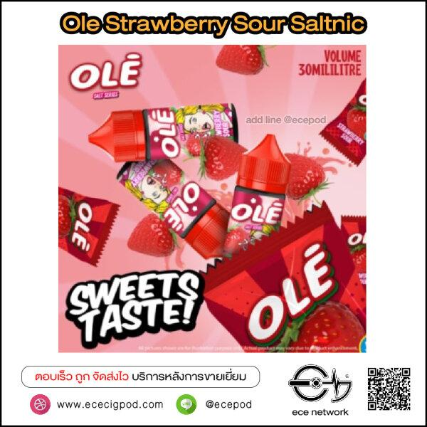 Ole Strawberry Sour Saltnic 30ml