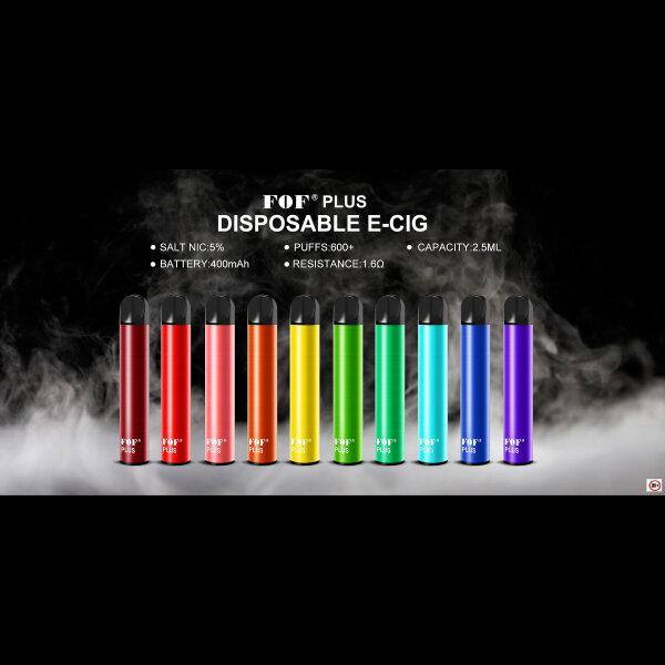 FOF PLUS Disposable Pod 600-800puffs (1ชิ้น/กล่อง)