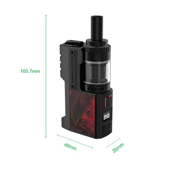 Digiflavor Z1 80W SBS Kit (Black Stabwood)