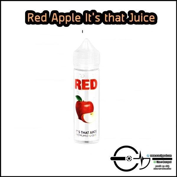 Red Apple It's That Juice 60ml