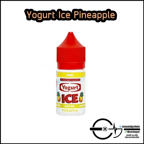 Yogurt Ice Pineapple Salt