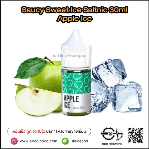 Saucy Sweet Ice - Apple Ice Saltnic 30ml (Nic25/45)
