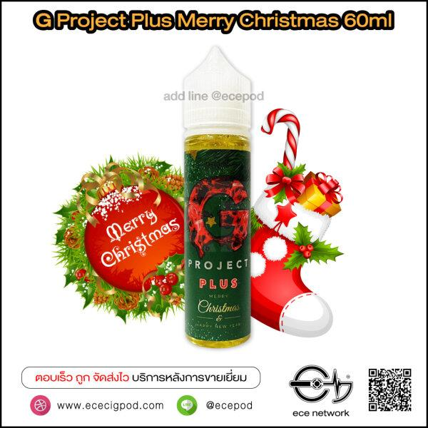 G Project Plus Merry Christmas 60ml