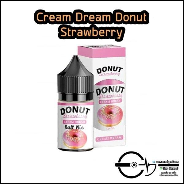 Cream Dream Donut Strawberry Salt