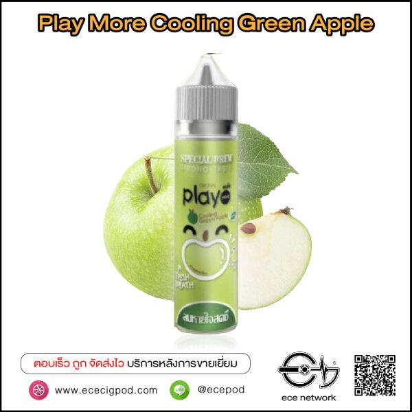 PlayMore Cooling Green Apple 60ml