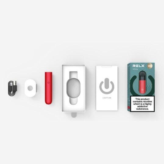 บุหรี่ไฟฟ้า Relx Infinity Pod Kit Black