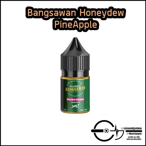 Bangsawan Honeydew Pineapple Salt 30ml nic35