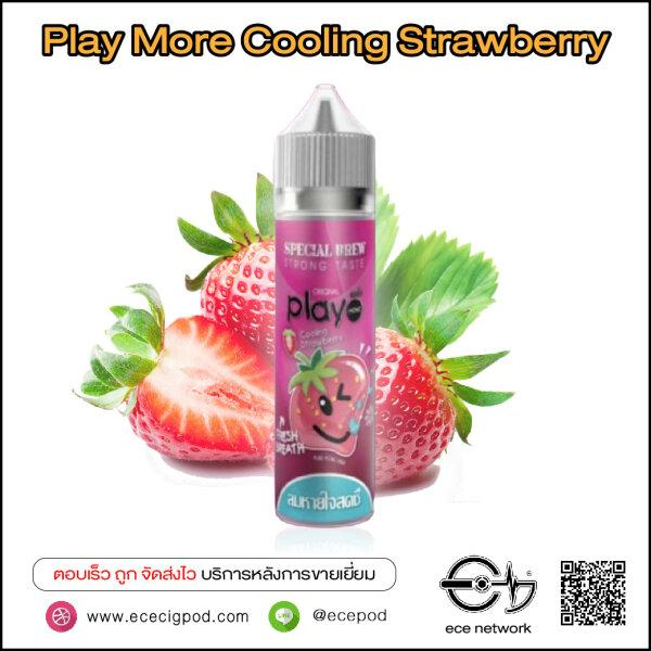 PlayMore Cooling Strawberry 60ml