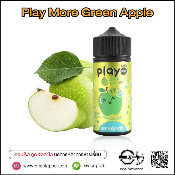 PlayMore Cooling Green Apple 100ml