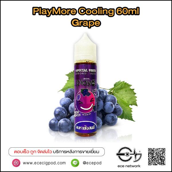 PlayMore Cooling 60ml Grape