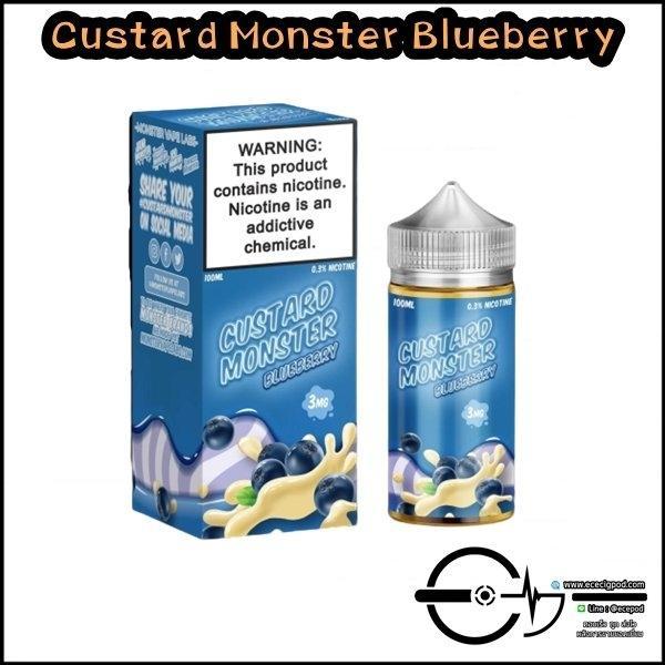 Custard Monster Blueberry 100ml