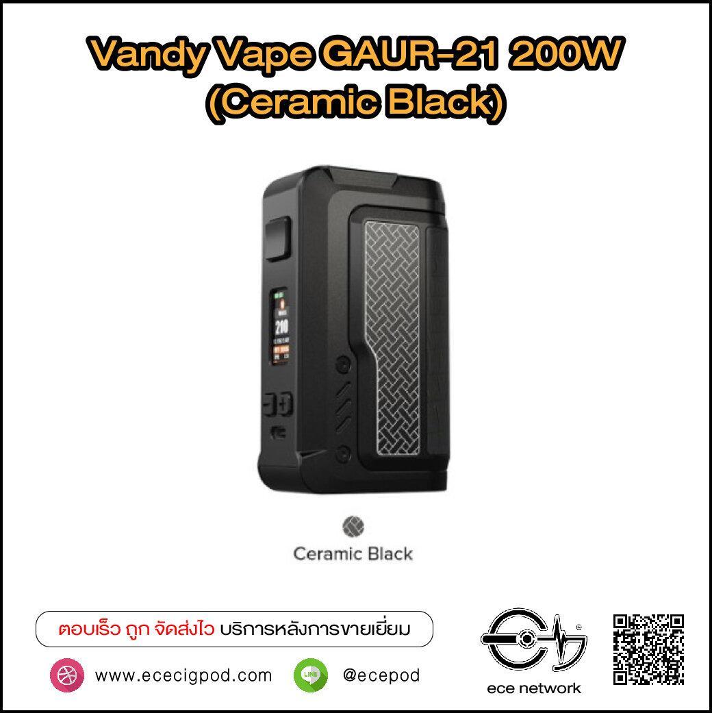 Vandy Vape GAUR-21 200W Box Mod (Ceramic Black)