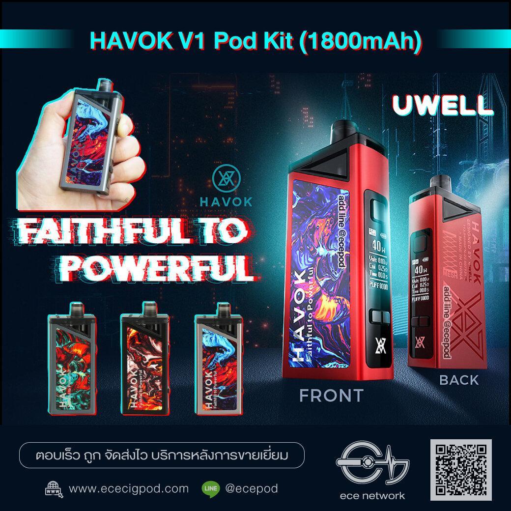 Uwell HAVOK V1 Pod Kit 1800mAh