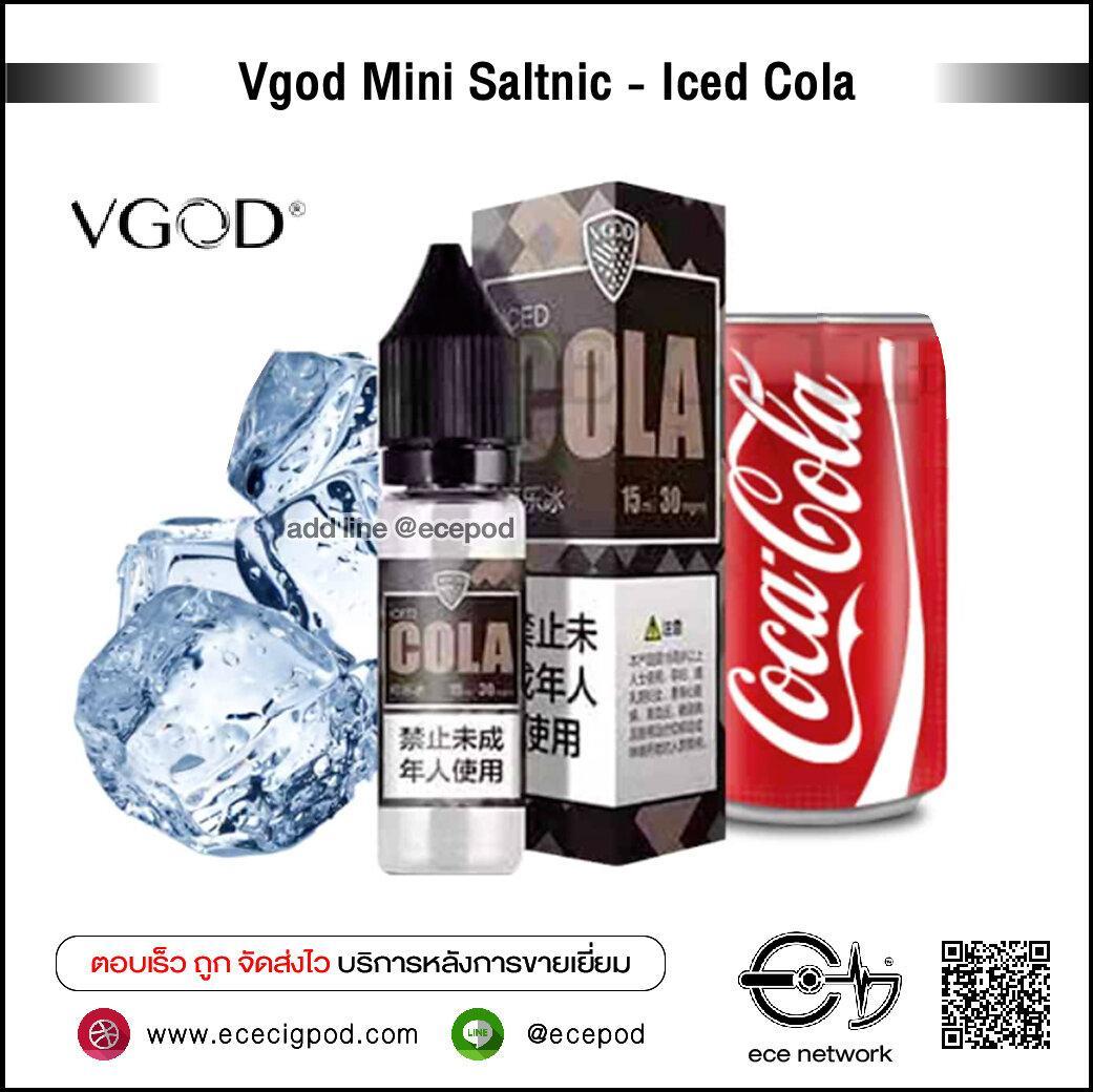 Vgod Mini Saltnic - Iced Cola 15ml N30