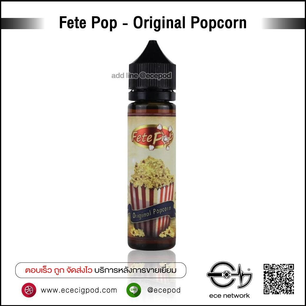 Fete-Pop - Original Popcorn 60ml