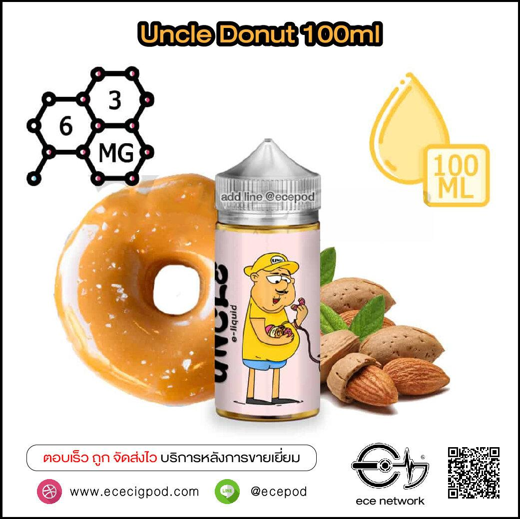 Uncle Donut - Freebase 100ml Nic3/6