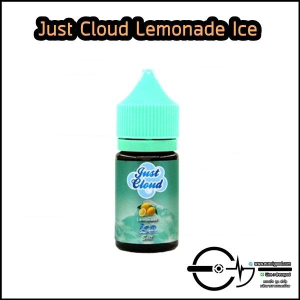Just Cloud Lemonade Ice Salt 30ml Nic30