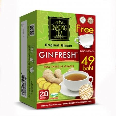 RANONG TEA  Original GINGER (20 茶包 ) (拉农茶) 泰式姜茶  (原版的)