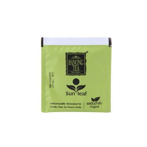 ซันลีฟ ออริจินอล RANONG TAE Sunleaf Original Green Tea (ขนาด 50ซอง)