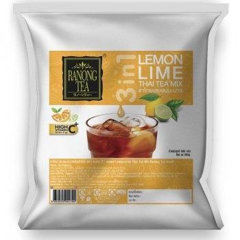ชาไทยเลมอนมะนาว Lemon Lime Thai Tea Mix 585 กรัม