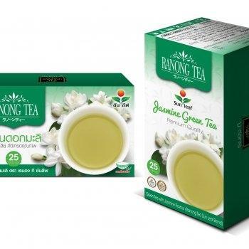 RANONG TEA SUNLEAF JASMINE (拉农茶)  中式绿茶 (茉莉花)