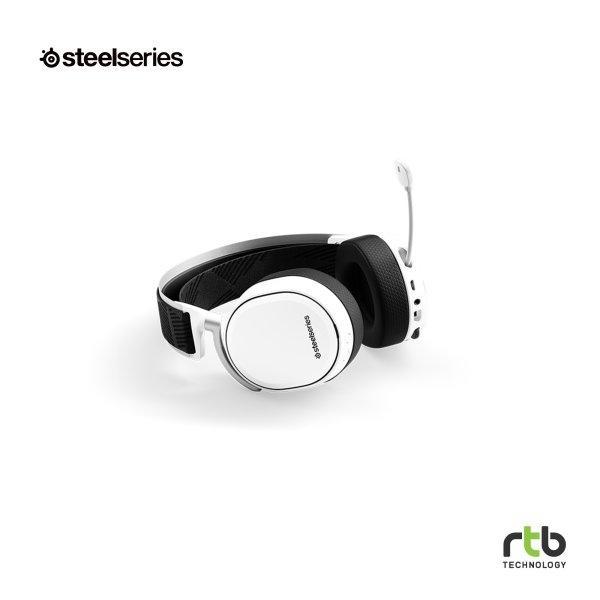 SteelSeries หูฟังเกมมิ่ง 7.1 DTS รุ่น Arctis Pro Wireless - White