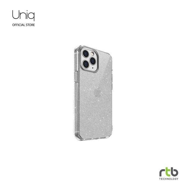 UNIQ Hybrid เคส iPhone 12/12 PRO(6.1) Anti Microbial รุ่น LifePro Tinsel - Clear