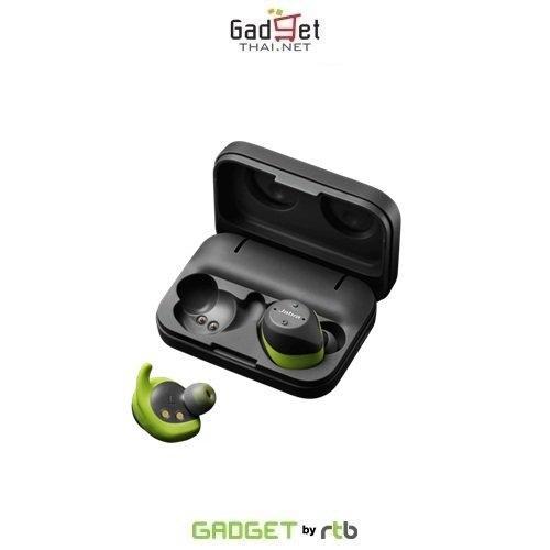 หูฟังบลูทูธ Jabra Elite Sport Lime Green Gray