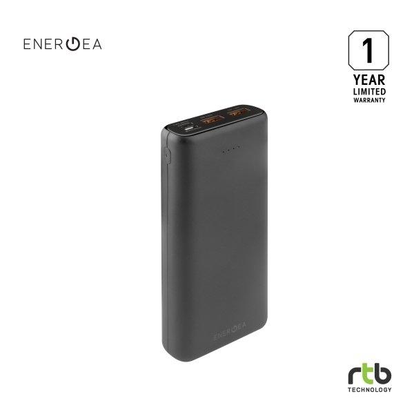 Energea Power Bank รุ่น Compac PQ2201 20000mAh Li-Lon PD + SMARTFC 4.0 - Black