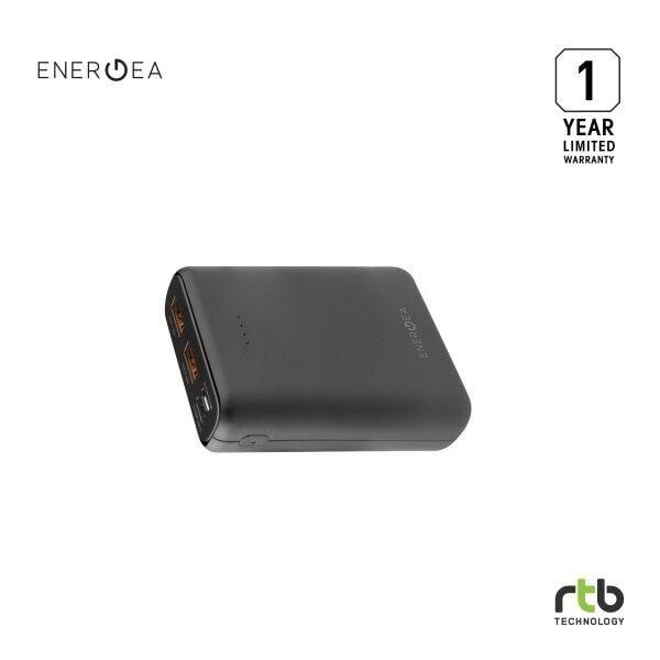 ENERGEA Power Bank 10000 Mah รุ่น ComPac AluMini - Black