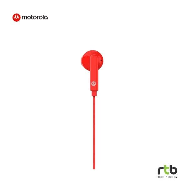 Motorola หูฟัง Earbud รุ่น Pace 145 - Red