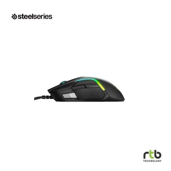 SteelSeries เมาส์เกมมิ่ง RGB รุ่น Rival 5 - Black
