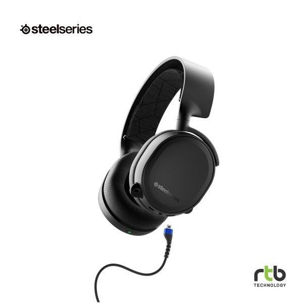 SteelSeries หูฟังเกมมิ่ง ไร้สาย 7.1 รุ่น Arctis 3 Bluetooth