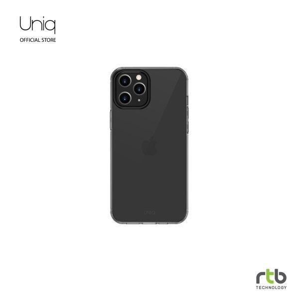 UNIQ Hybrid เคส iPhone 12/12 PRO(6.1) Anti Microbial รุ่น Air Fender - Smoke Grey