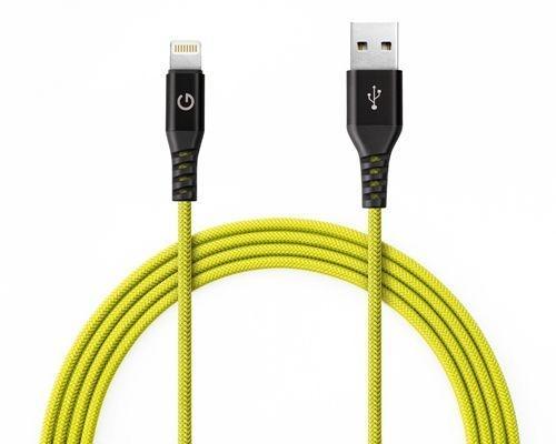 Energea สายชาร์จ Cable Alutough Lightning MFi 1.5M  รับประกัน 3 ปี